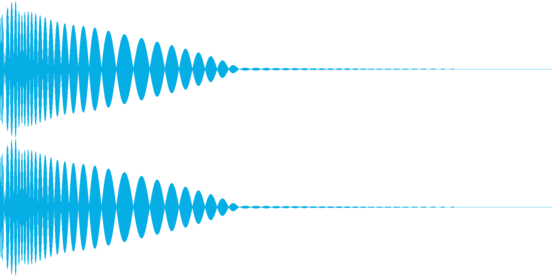 DTM Kick 3 オリジナル音源の再生済みの波形