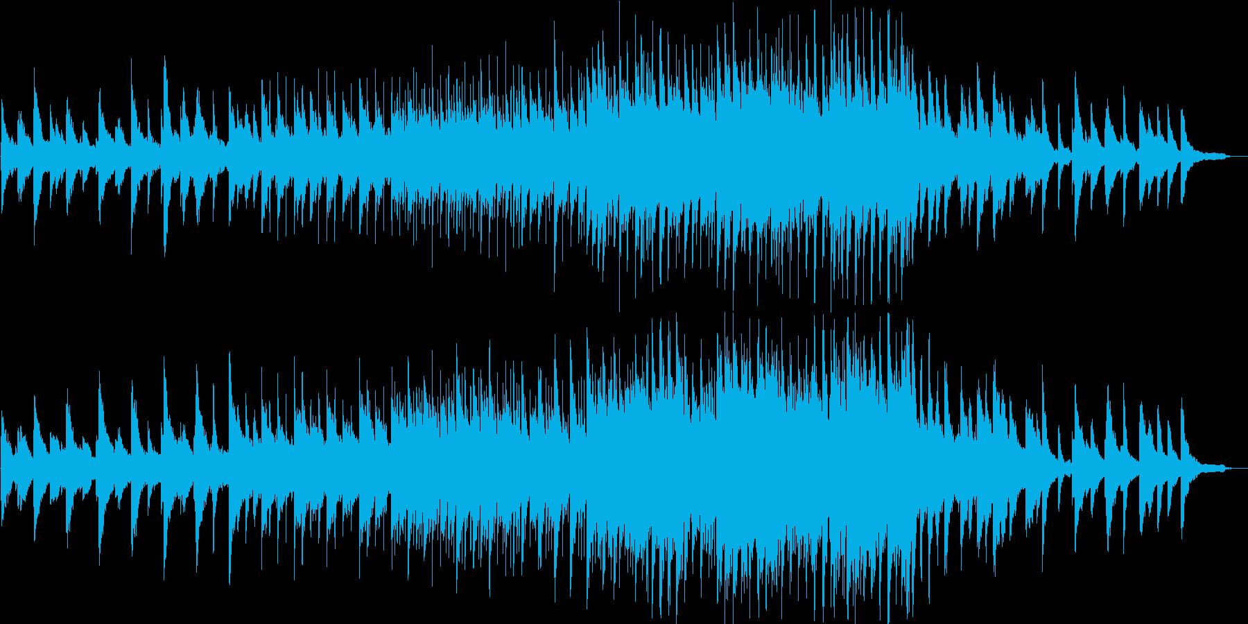 感動的・壮大・ピアノ・イベント・映像用の再生済みの波形