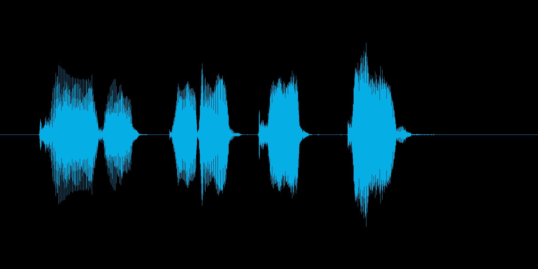 トリプルキック!の再生済みの波形