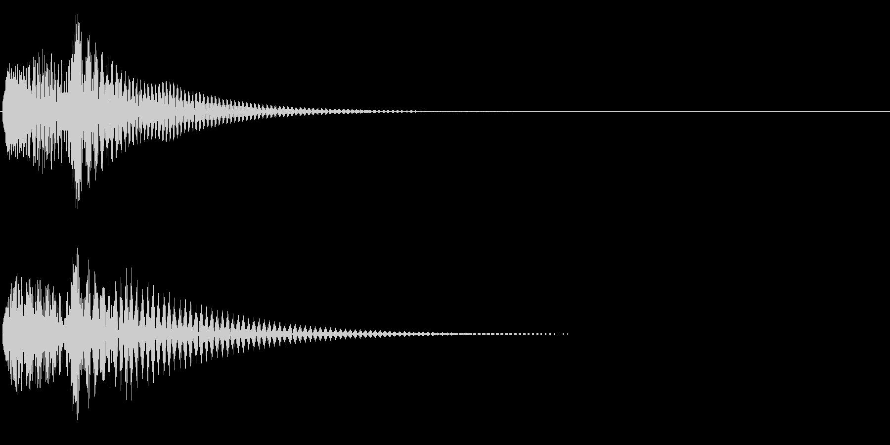 Baby 幼児玩具向け可愛い電子音5の未再生の波形