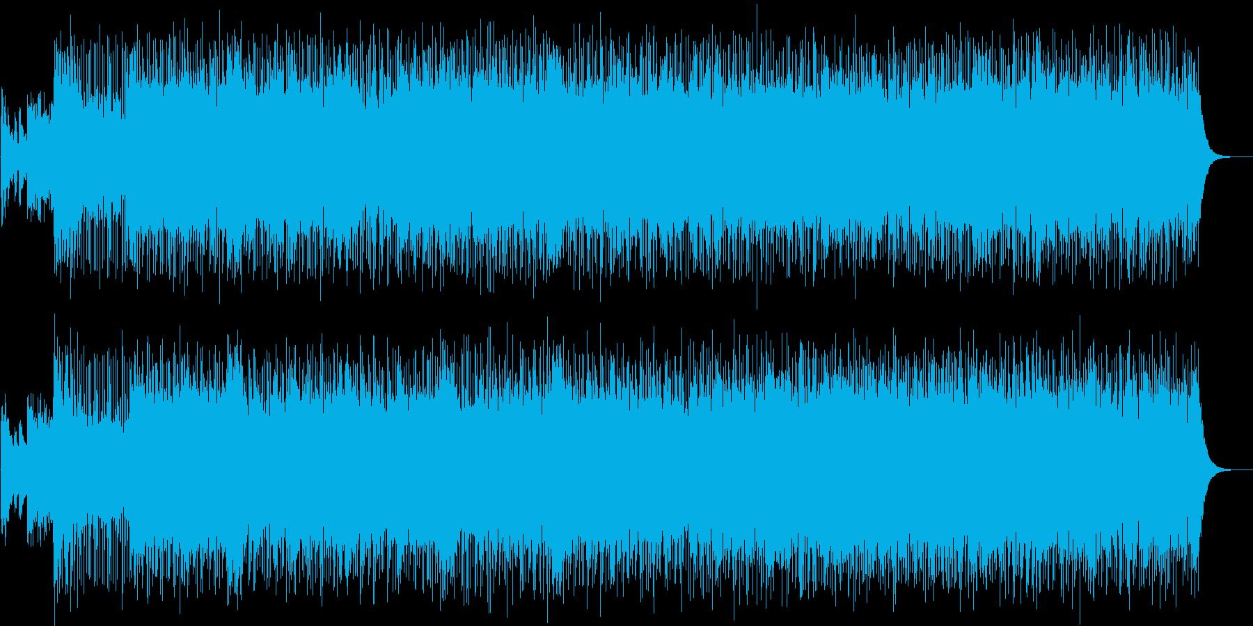 スパイ映画風ホーン・セクションの再生済みの波形