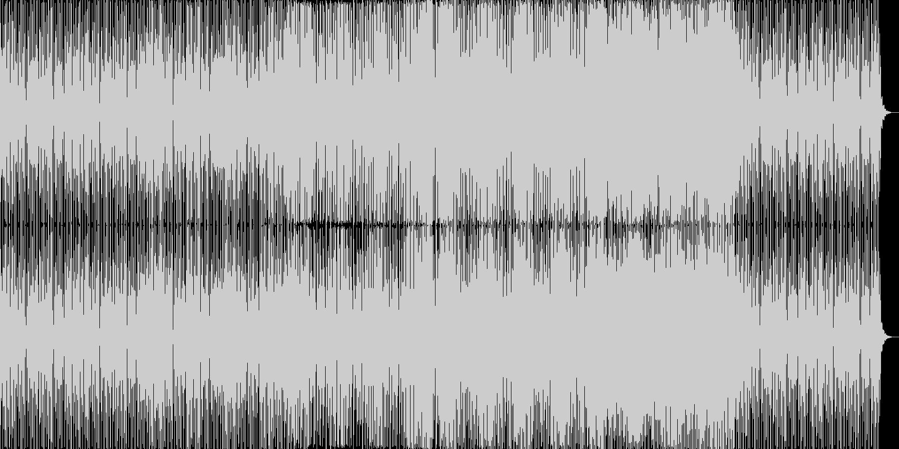 トレンドを抑えたドラムンベースの未再生の波形