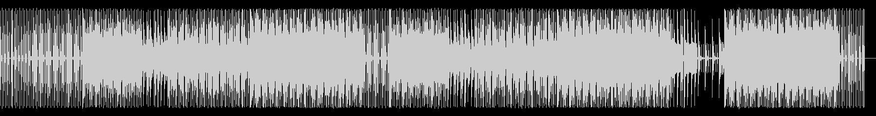 エディットされたピアノ/Hip-Hopの未再生の波形