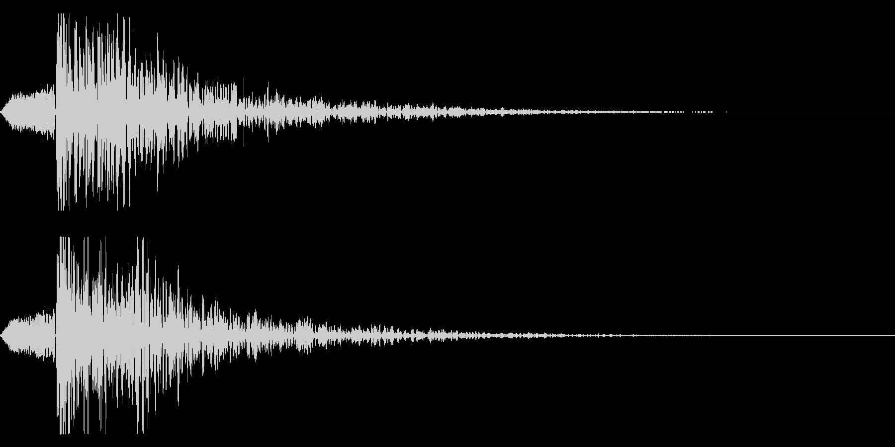 シネマティック ヒット インパクト!03の未再生の波形