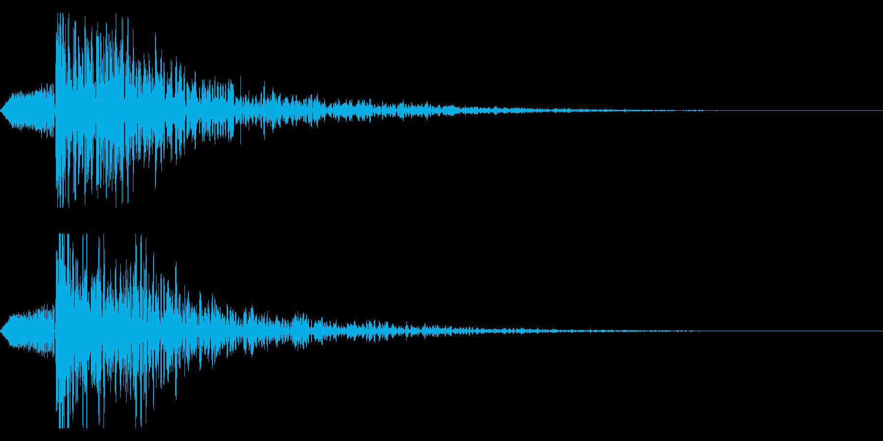 シネマティック ヒット インパクト!03の再生済みの波形
