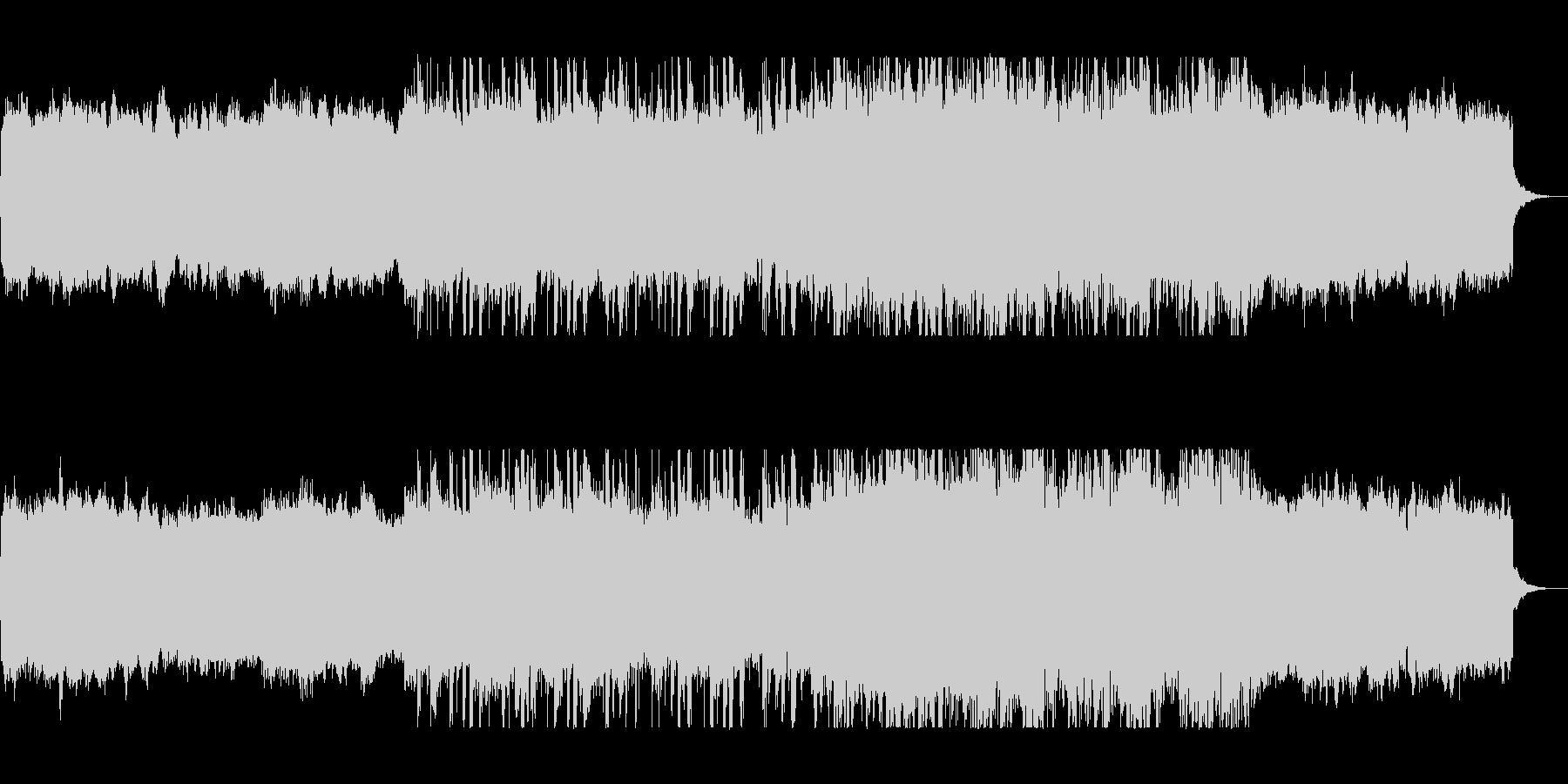 緩やかで幻想的なポップピアノサウンドの未再生の波形