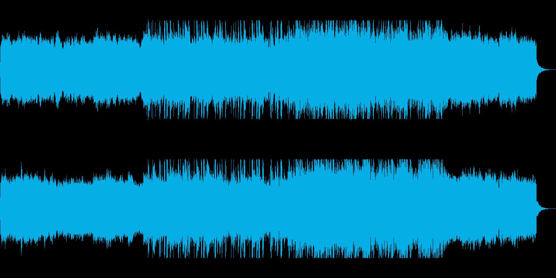 緩やかで幻想的なポップピアノサウンドの再生済みの波形