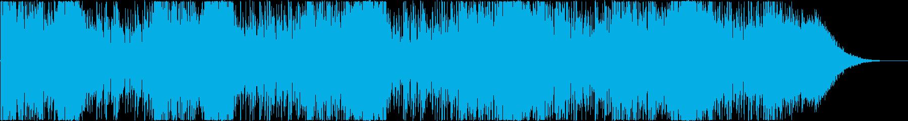 吹雪の再生済みの波形