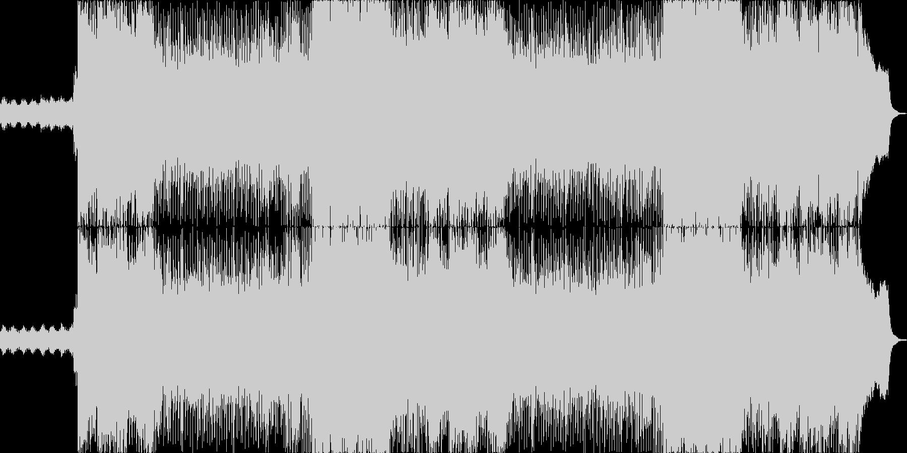 007風のミステリアスで退廃的な歌いり曲の未再生の波形