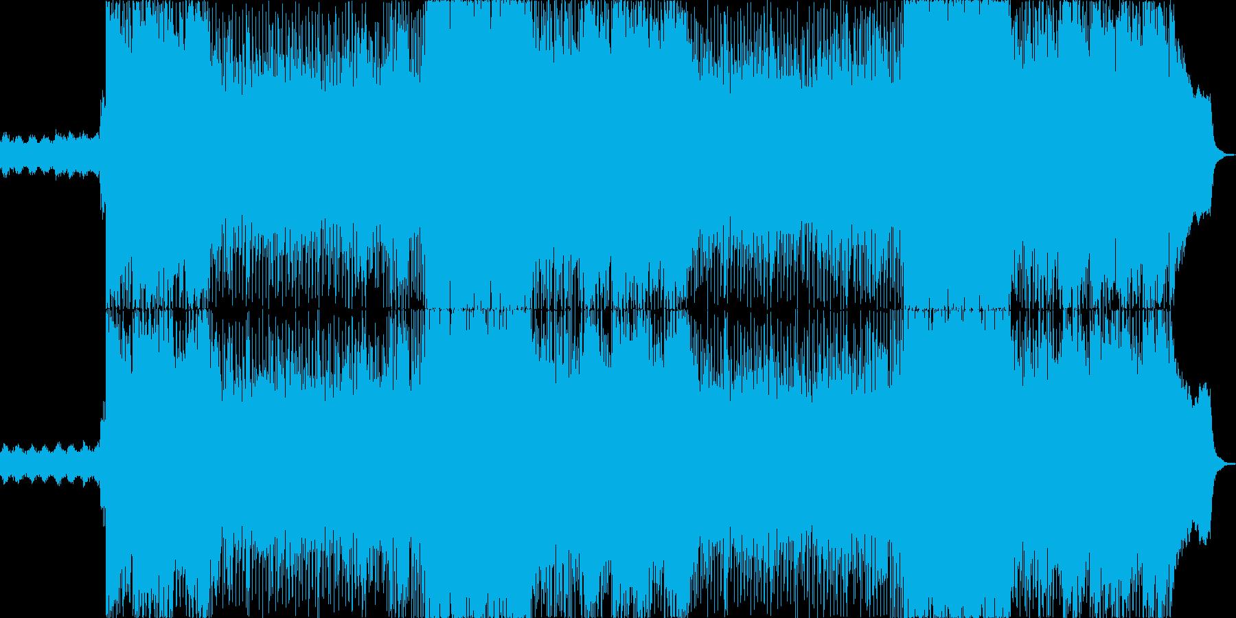 007風のミステリアスで退廃的な歌いり曲の再生済みの波形