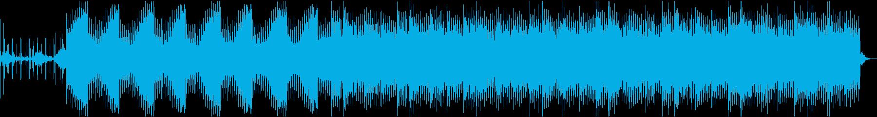 ホラーだけど暖かい不気味なBGMの再生済みの波形