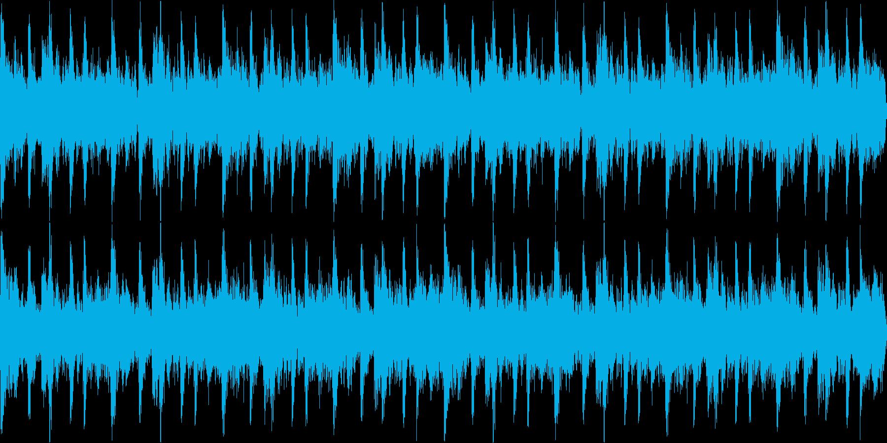 ハウス おしゃれ ループ2の再生済みの波形