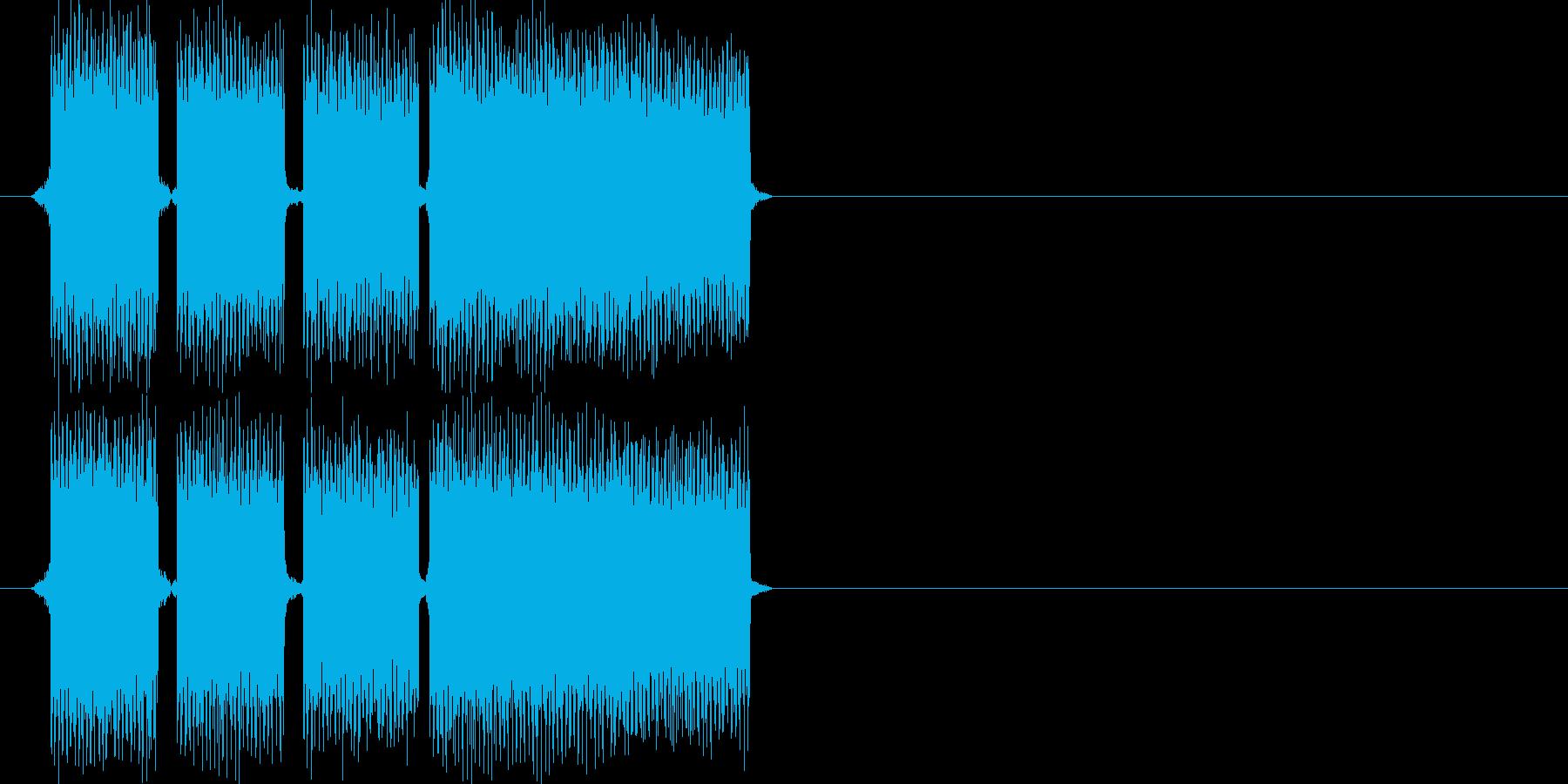 正解の時の効果音その3ですの再生済みの波形