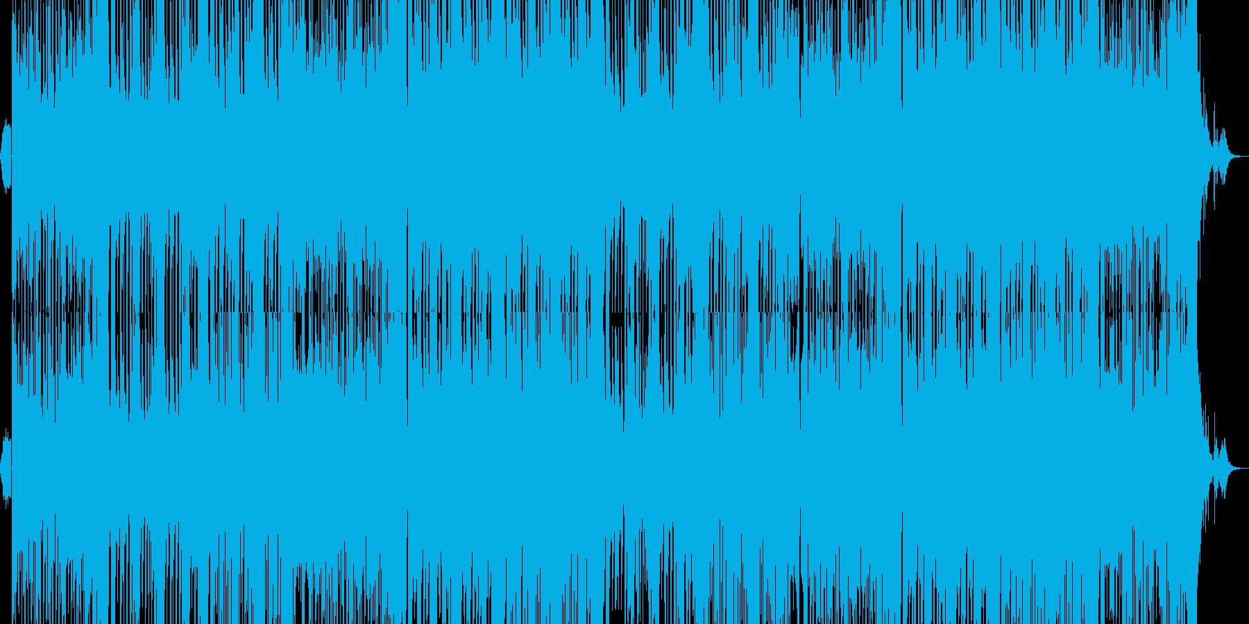 ダンス系EDM/イケメンになる曲の再生済みの波形