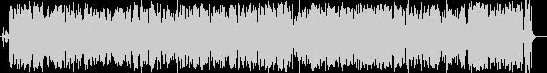スティールパンの音色が陽気なラテンポップの未再生の波形