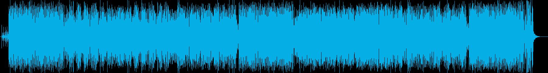 スティールパンの音色が陽気なラテンポップの再生済みの波形