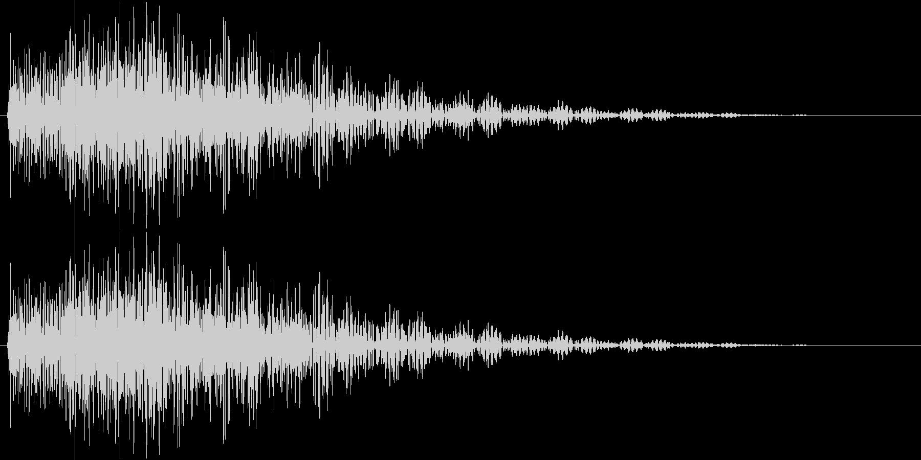 タララン 低 (ボタン、スタート音)の未再生の波形