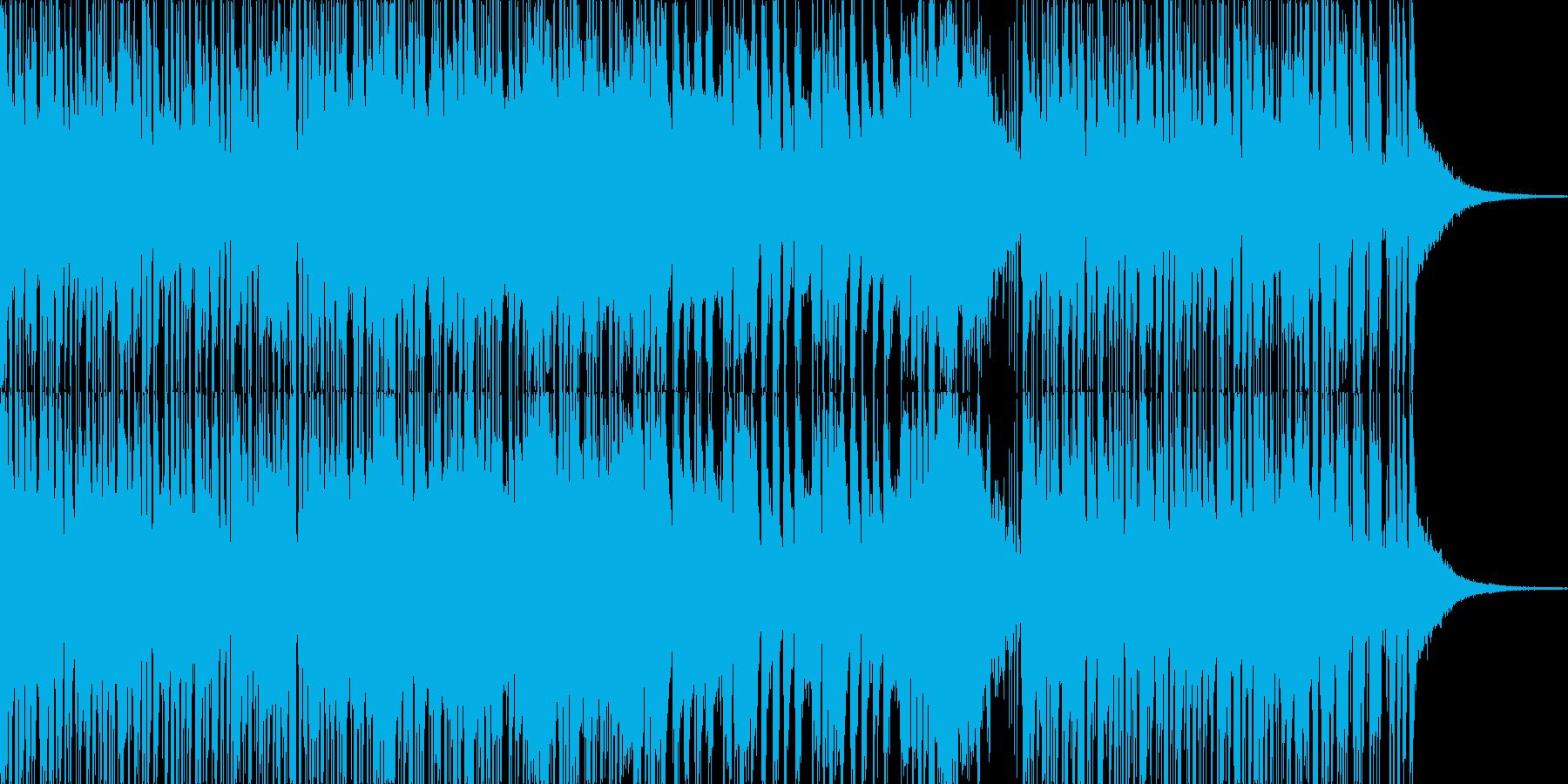 トランペットが印象的なファンクの再生済みの波形