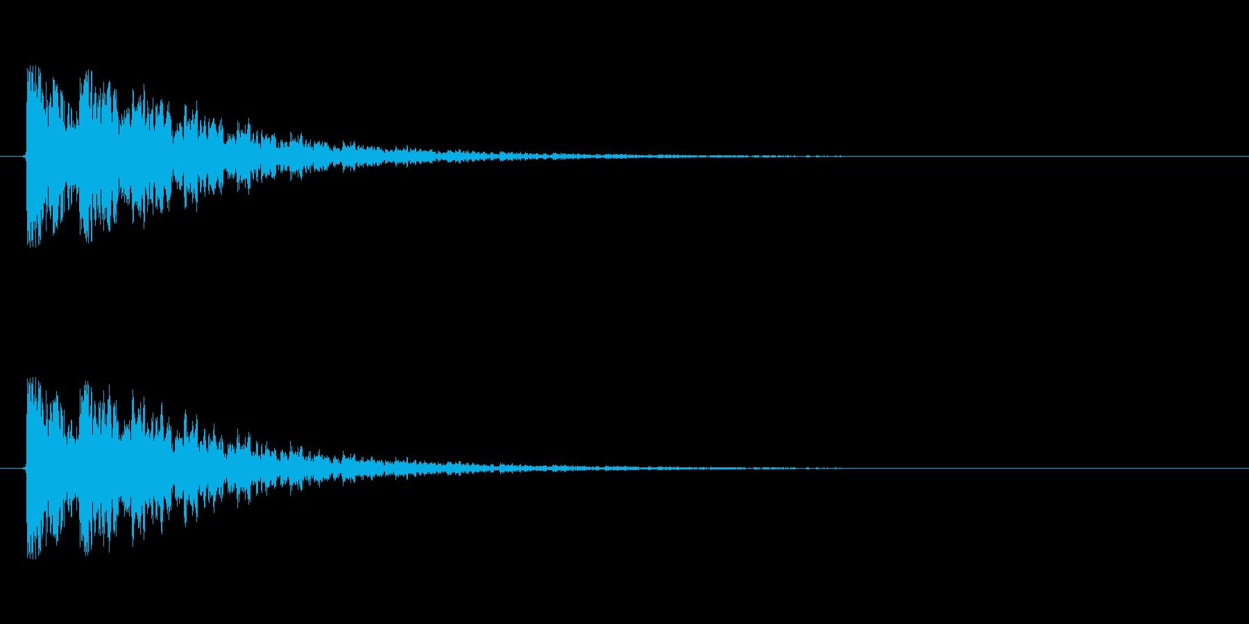 【衝撃06-3】の再生済みの波形