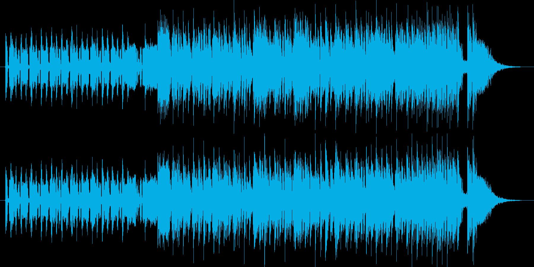 デジタルでおしゃれな都会系の曲です。I…の再生済みの波形
