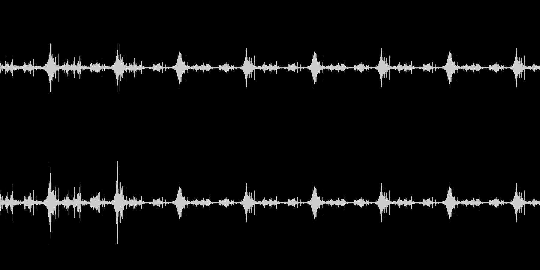 海面の音-2の未再生の波形