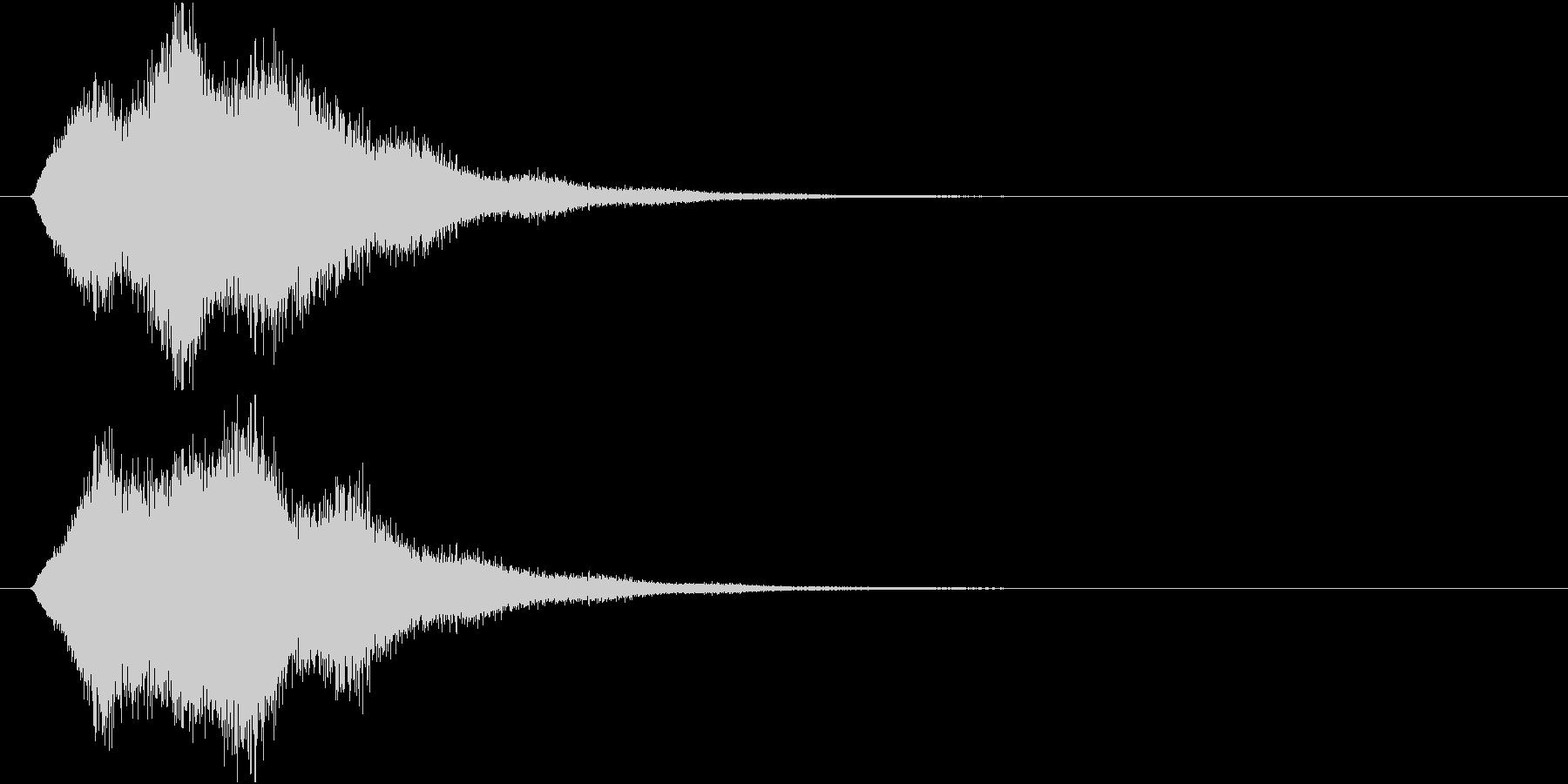 魔法や忍術系の回転音の未再生の波形