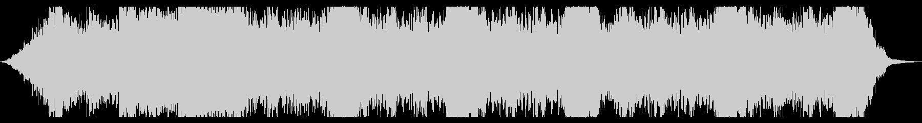 緊張感のある弦楽四重奏BGMの未再生の波形