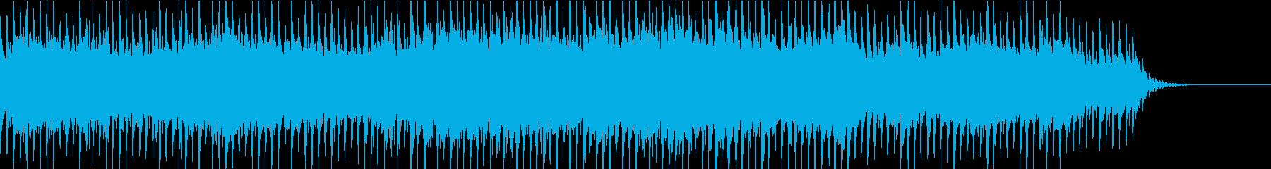イルミネーションBGM③ビート感の再生済みの波形