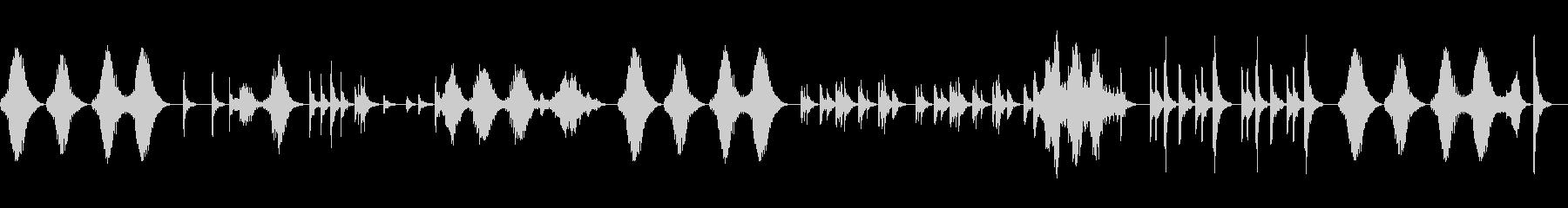 マリンバで癒しの空間を作りますの未再生の波形