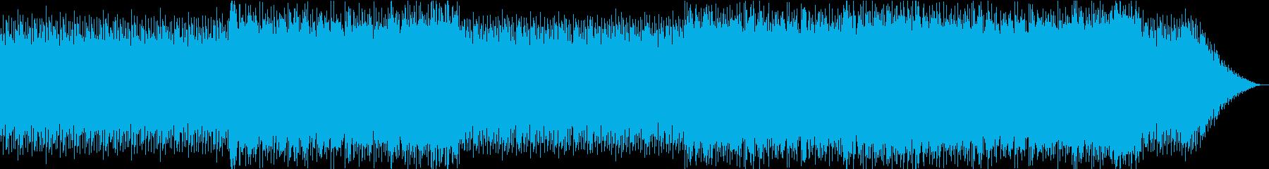 激しさを感じるオーケストラの再生済みの波形