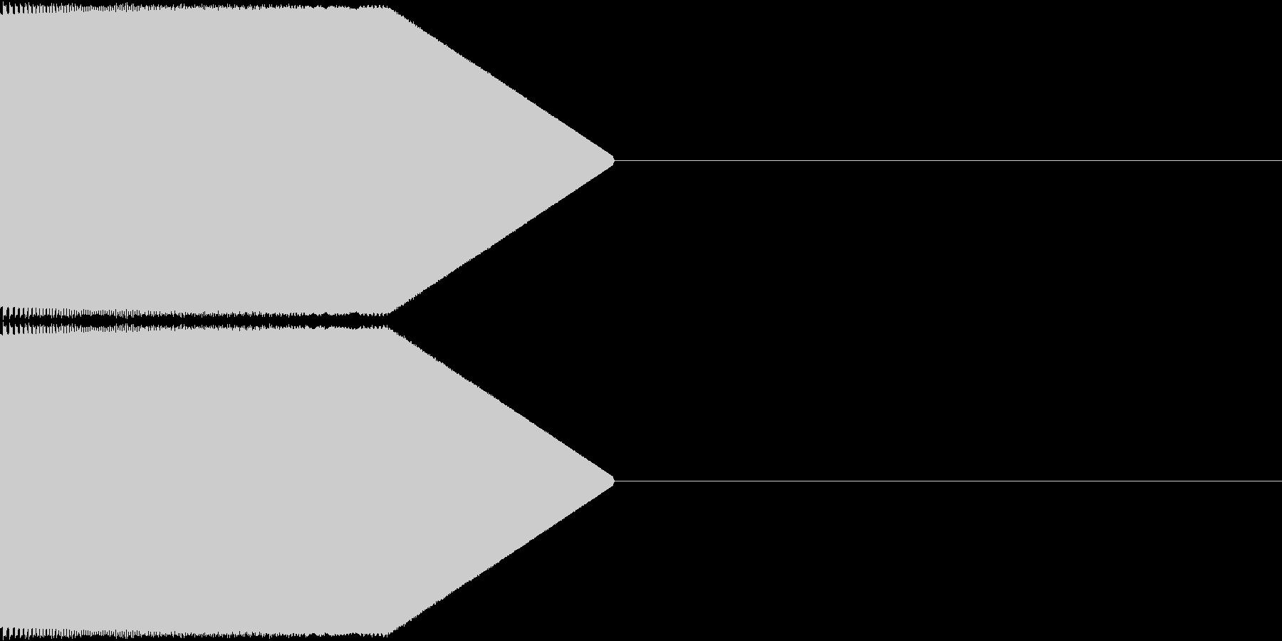 決定音・選択音・入手音【5】の未再生の波形