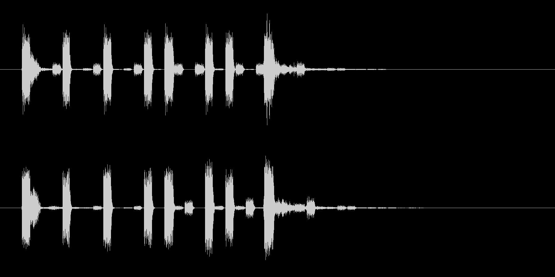ラジオ・ネットラジオ・YouTuberの未再生の波形