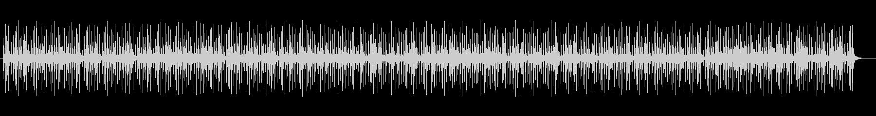神秘的な響きシンセが特徴のポップスの未再生の波形