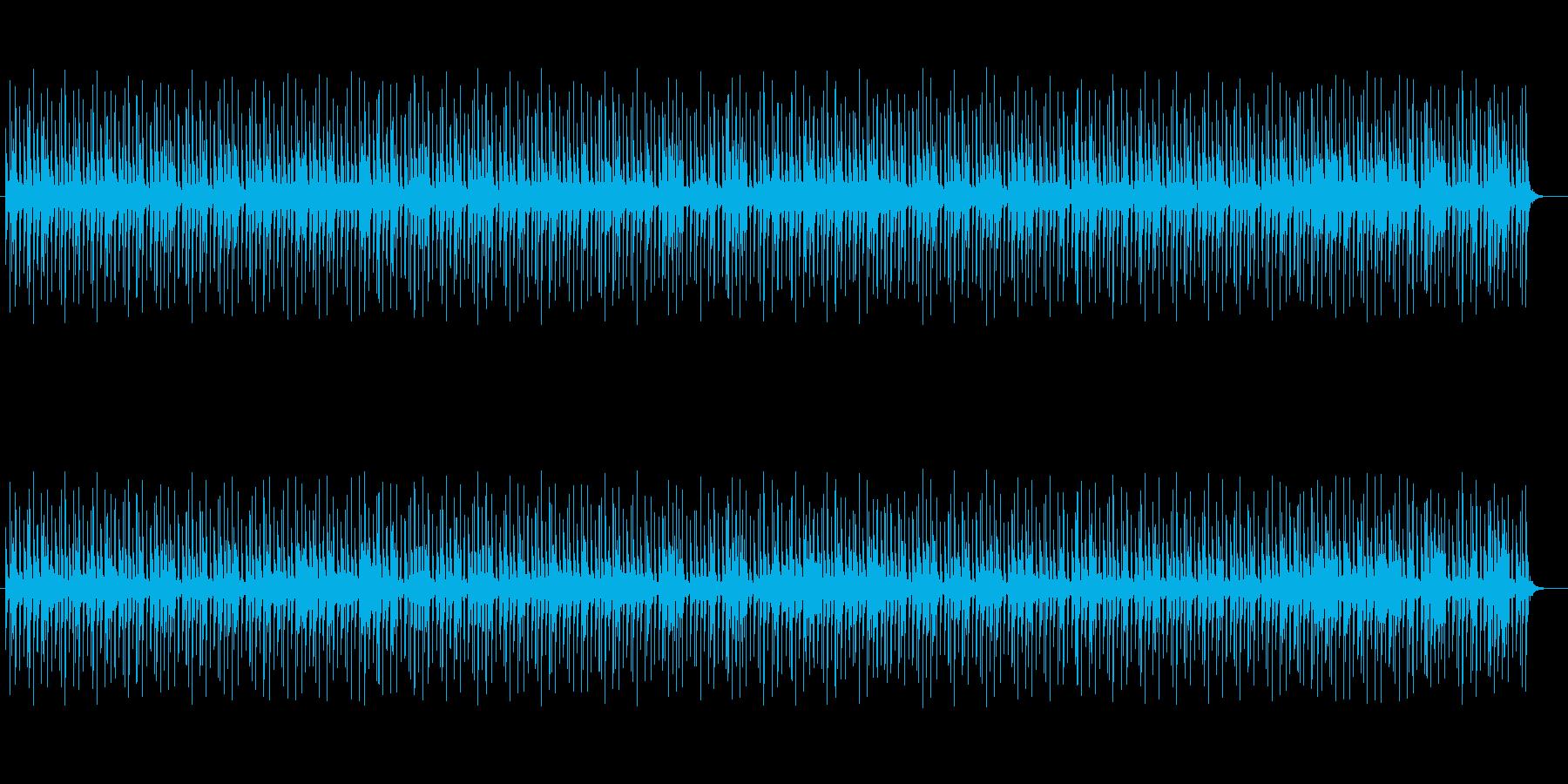 神秘的な響きシンセが特徴のポップスの再生済みの波形