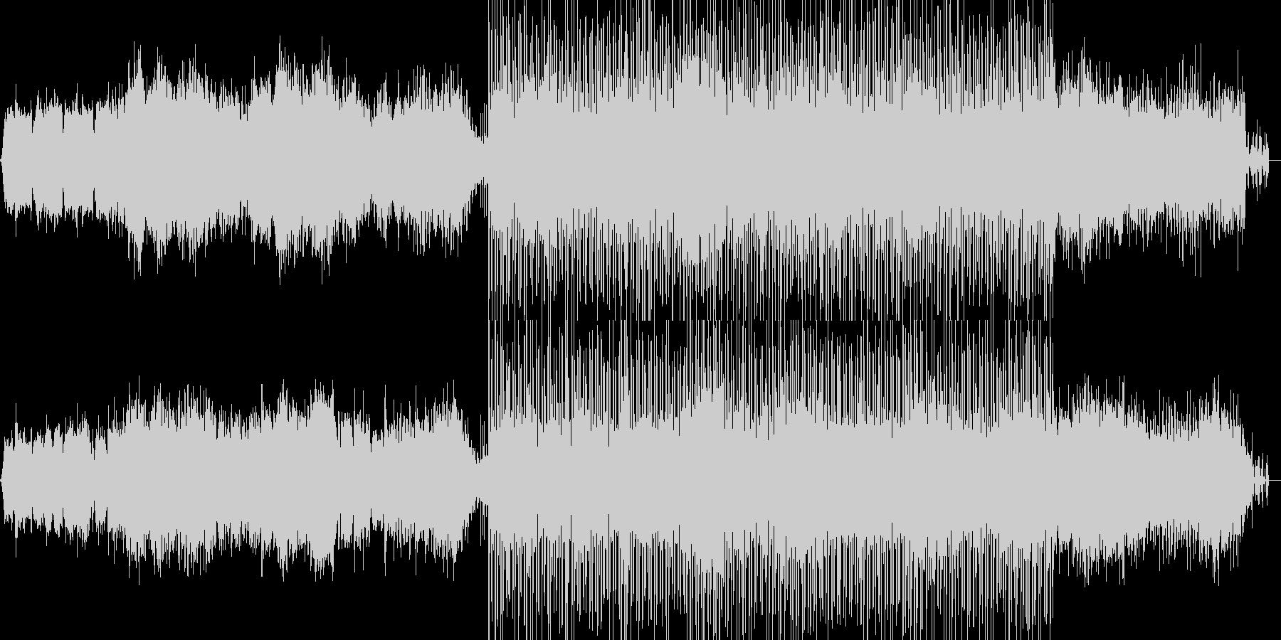 近未来的な雰囲気 1:20からリズム有りの未再生の波形