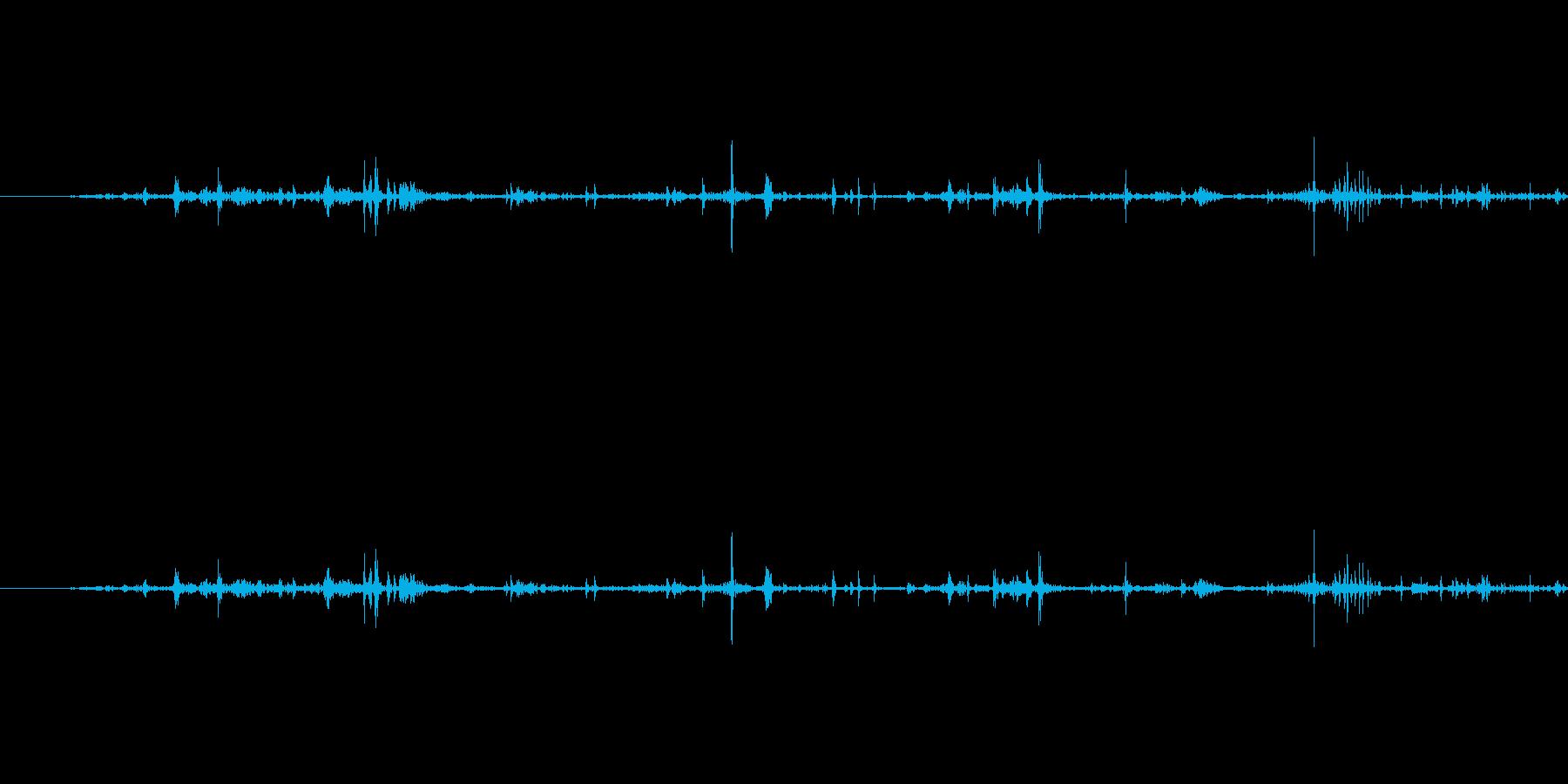 ぐちゃぐちゃ(短め)の再生済みの波形