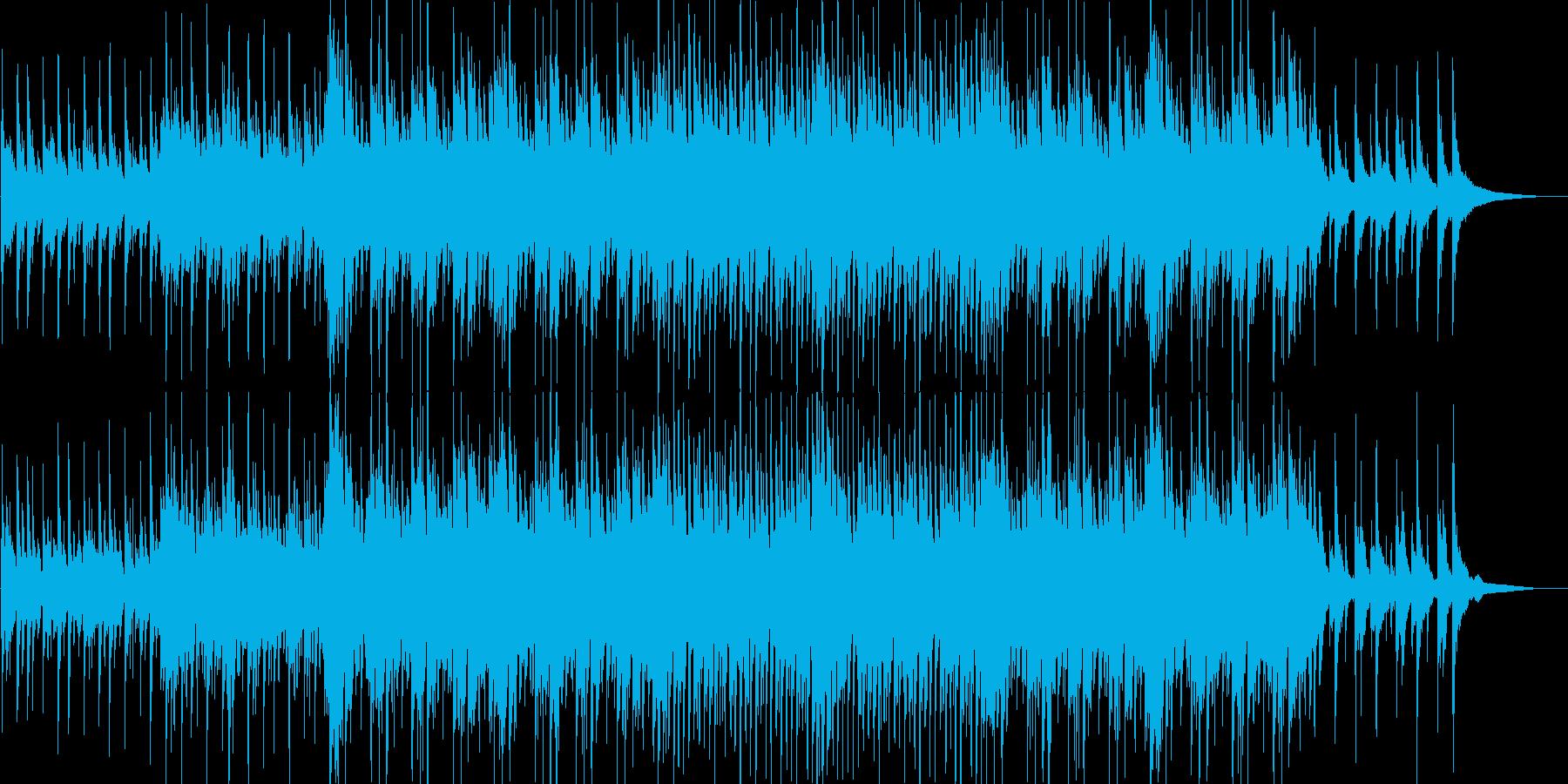 和風・緊張感・戦闘・バトル・三味線・尺八の再生済みの波形