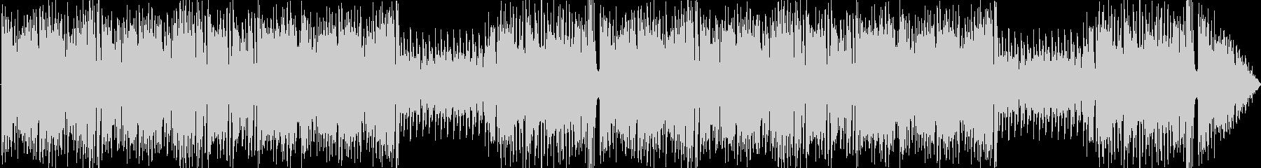 ポップなコミカルパズル曲の未再生の波形