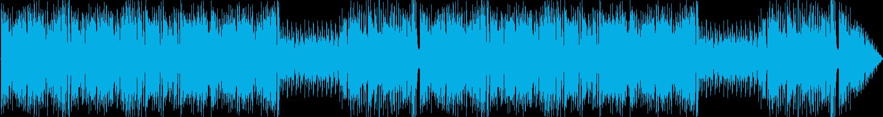ポップなコミカルパズル曲の再生済みの波形