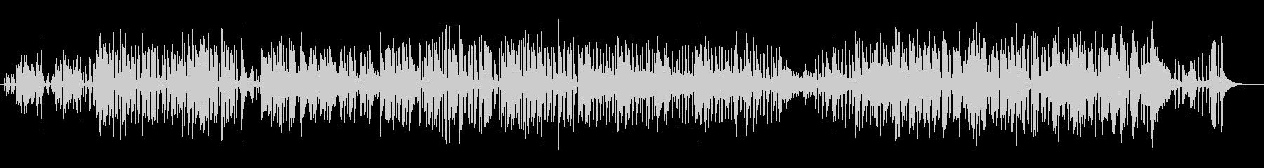 おしゃれで明るいシンセピアノサウンドの未再生の波形
