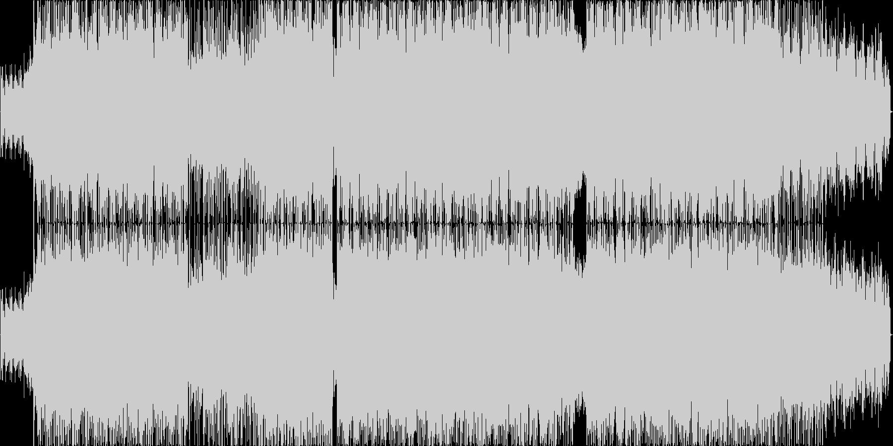 ファンキッシュなギターカッティングとリ…の未再生の波形