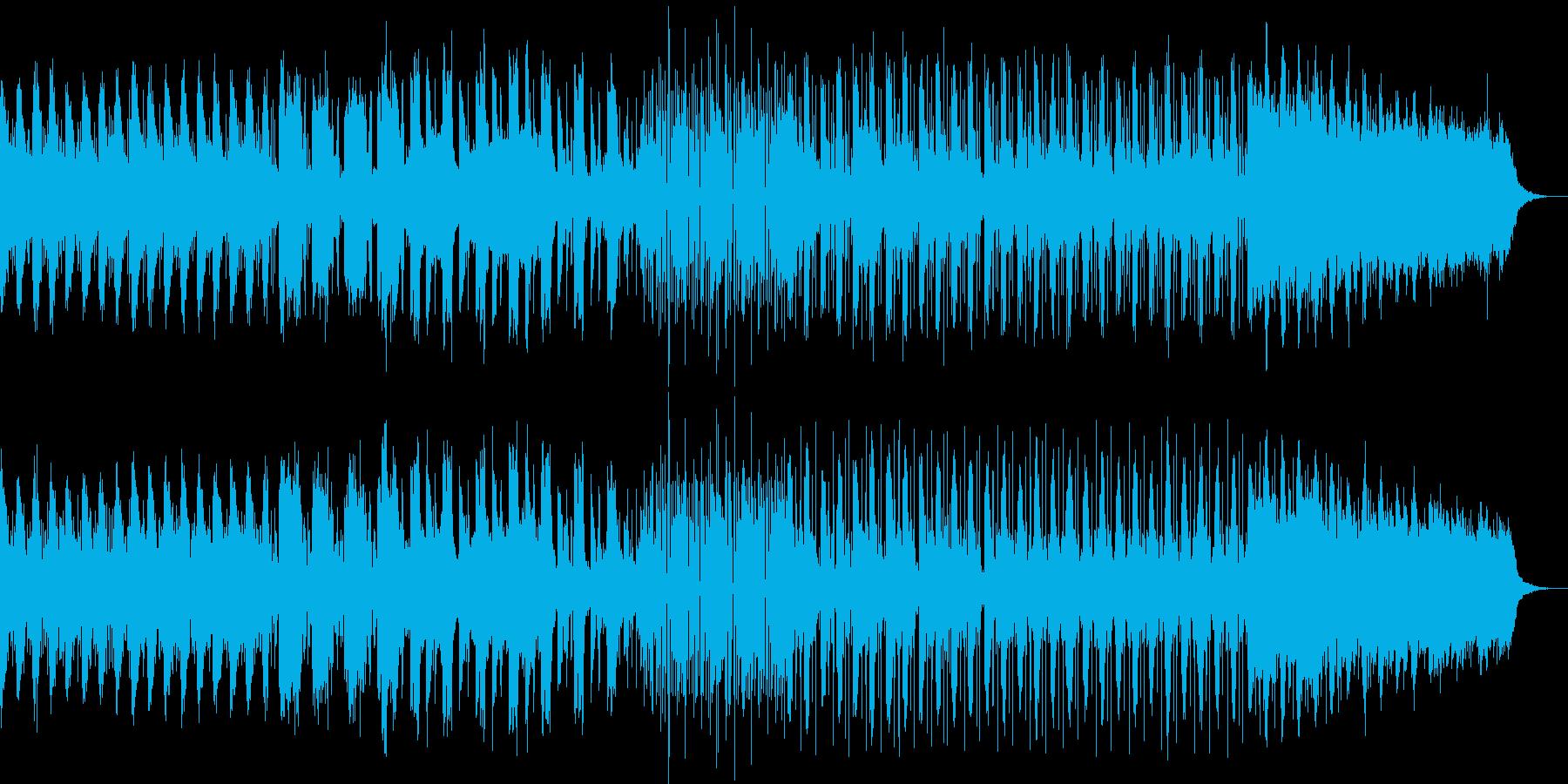 表情を変えていくフューチャーアンビエントの再生済みの波形