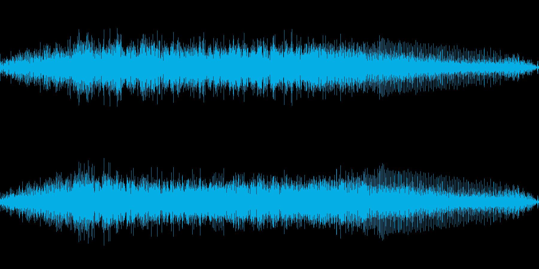 ロボットの動作音(等身大ロボット)の再生済みの波形