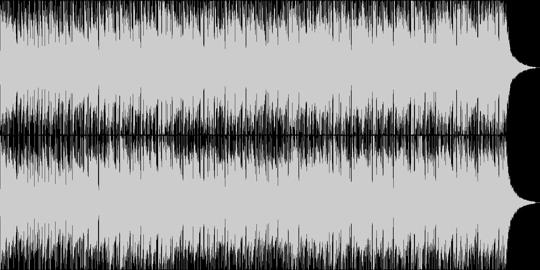 アコギとピアノが爽やか・軽快なポップスの未再生の波形