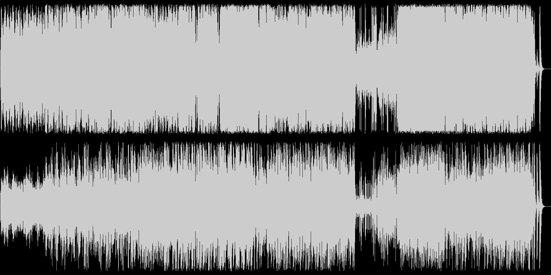 不思議で異次元なスピリチュアルサウンドの未再生の波形