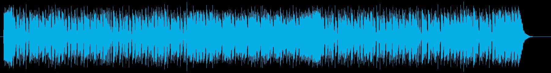 明るく楽しい鐘の音シンセサイザーサウンドの再生済みの波形