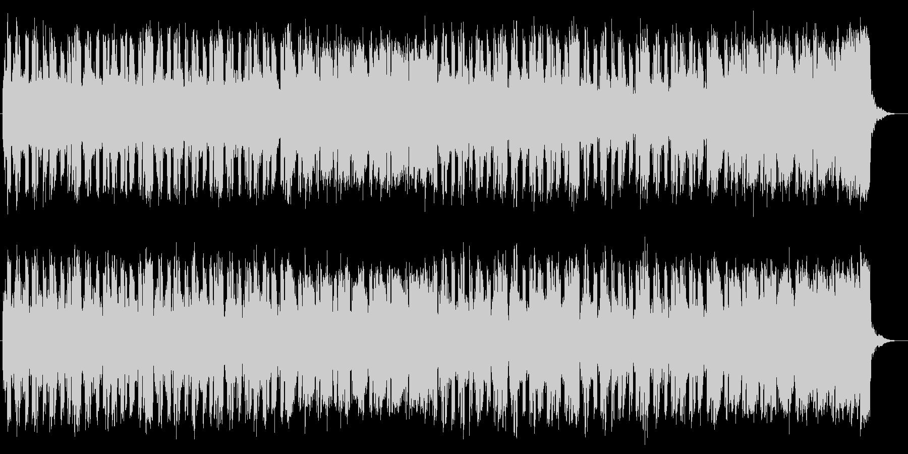情熱的なストリングポップスの未再生の波形