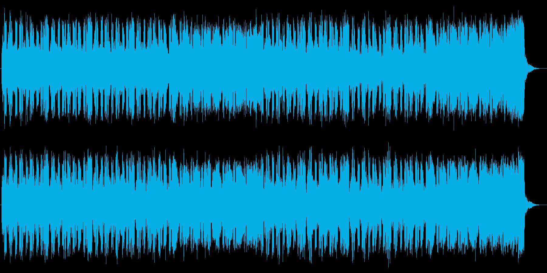 情熱的なストリングポップスの再生済みの波形