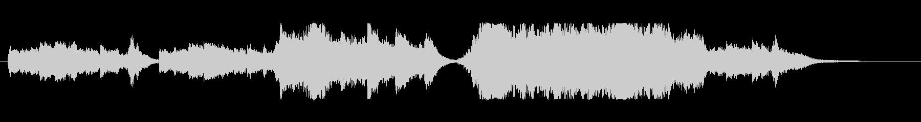もしもハリーポッターが30秒で終わったらの未再生の波形