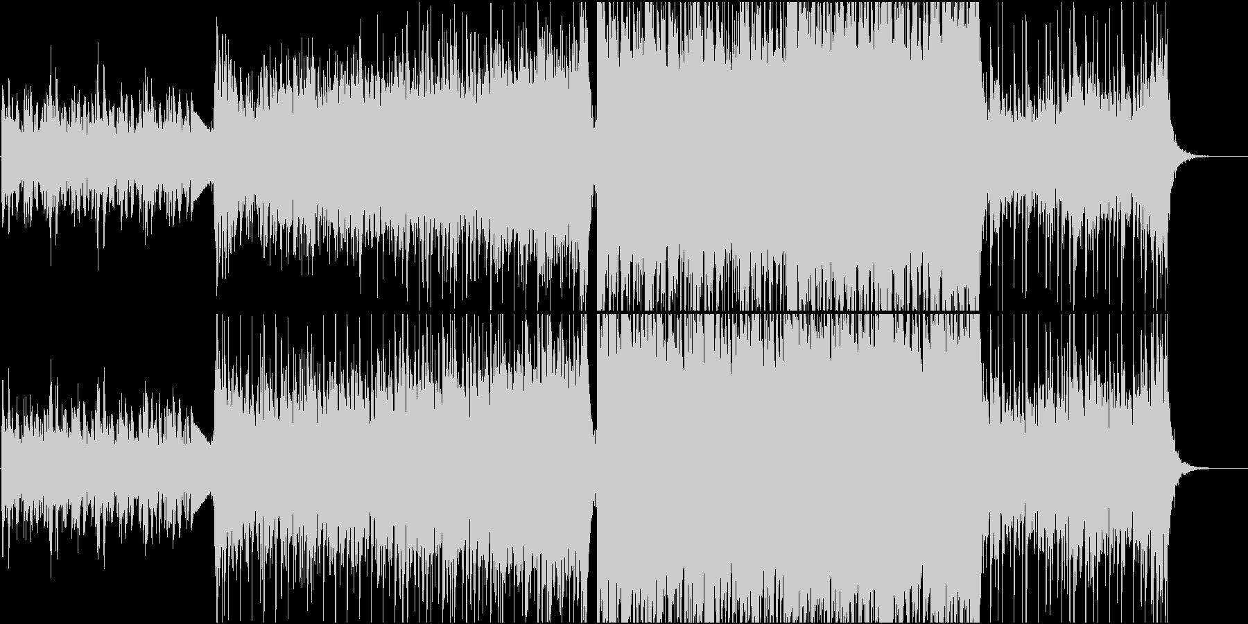 壮大なエピック系ボス登場曲の未再生の波形